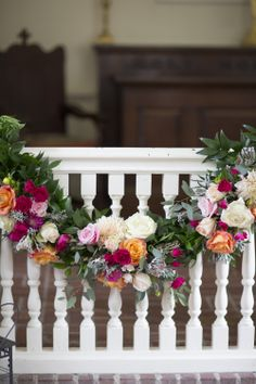 floral wedding #decor | See the wedding on SMP!