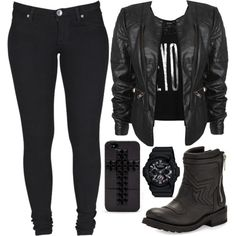 Untitled #114 by lo-mackenzie on Polyvore featuring Monki, Dr. Denim, Ash, G-Shock and Forever 21