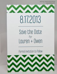 Wedding Save the Date  Chevron  Vows by r3mg   PRINTABLE by r3mg, $20.00
