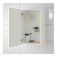 LILLÅNGEN Spejlskab med 1 dør - hvid - IKEA