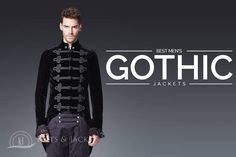 Best Men's Gothic Jackets for Christmas 2017 - 100% Custom Jackets
