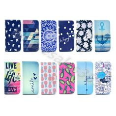 Phone Cover For Samsung Galaxy Printed Wallet Premium Leather Rubber Card Case #UnbrandedGeneric #MediaStandFlipMagnetic