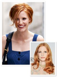 #JessicaChastain made one of the biggest chops of 2012! http://news.instyle.com/2012/07/19/jessica-chastain-haircut-2012/