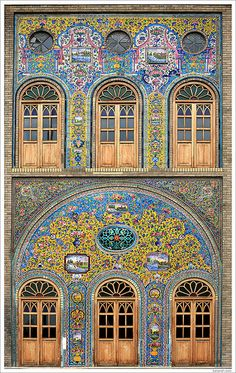 Golestān Palace (Persian: کاخ گلستان ) is the former royal Qajar complex in Iran's capital city.    The oldest of the historic monuments in Tehran, the Golestan Palace (also Gulistan Palace) (Palace of Flowers) belongs to a group of royal buildings that were once enclosed within the mud-thatched walls of Tehran's Historic Arg (citadel).