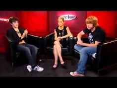 Daniel Radcliffe, Emma Watson and Rupert Grint Unscripted