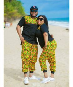 The most classic collection of beautiful traditional and ankara styles and designs for couples. These ankara styles collections are meant for beautiful African ankara couples African Fashion Designers, African Fashion Ankara, Latest African Fashion Dresses, African Print Fashion, Africa Fashion, Couples African Outfits, African Wear Dresses, African Attire, Nigerian Men Fashion