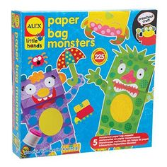 ALEX Toys Little Hands Paper Bag Monsters - Just peel, stick and glue to create funny friends Each monster is bagged separately so you can save them for another rainy day, or have several kids participate at once Dr. Toy's 100 Best Children's Products, The National Parenting Center's Seal of Approval and Today's Parent Canada Top Toys Winner