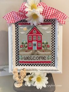Thrilling Designing Your Own Cross Stitch Embroidery Patterns Ideas. Exhilarating Designing Your Own Cross Stitch Embroidery Patterns Ideas. Cross Stitch House, Cross Stitch Borders, Cross Stitch Kits, Cross Stitch Charts, Cross Stitch Designs, Cross Stitching, Cross Stitch Patterns, Cross Stitch Embroidery, Embroidery Patterns