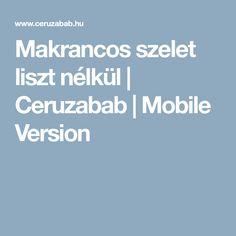 Makrancos szelet liszt nélkül | Ceruzabab | Mobile Version