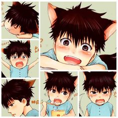 PUPPY MAYA for you   ▫▫ Goodnight, everyone  © sakusa-chan.tumblr.com   #yaoi #yaoilife  #hidokushinaide #yaoilove