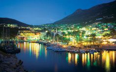 Nights in Kalkan, stunning town with amazing restaurants and Turkish hospitality