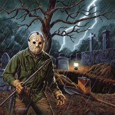 Part 6 Jason Voorhees, by Jason Edmiston