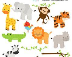Animal Train Clipart Set clip art set of от mycutelobsterdesigns