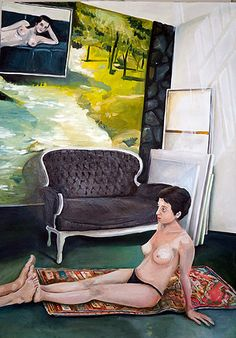 priscilladepaula Do I wake or sleep? (2016) óleo s tela 120 x 170 cm Contemporary Paintings, Gallery, Artwork, Contemporary Art, Portrait, Mural Painting, Artists, Work Of Art, Roof Rack