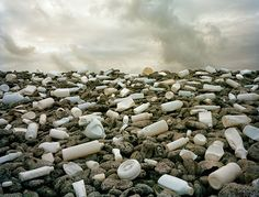 WASHED UP, a beautiful series of photography that captures the massive pollution problem in our oceans