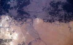 The Giza Plateau in Giza, Egypt.