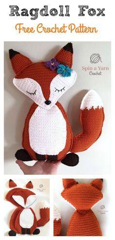Ragdoll Fox Free Crochet Pattern