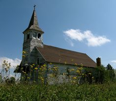 ghosts of north dakota | Church,Balfour,North Dakota | Flickr - Photo Sharing!