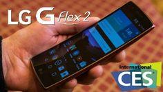 Kavisli Akıllı Telefon LG G Flex 2 Tanıtıldı - CES 2015 - Haberler - indir.com