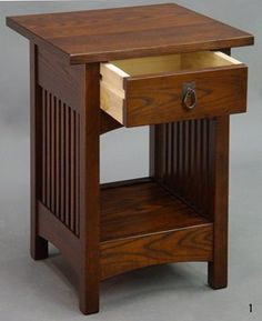 arts and crafts nightstand - Google Search