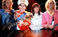The REAL Fab Four! Davey, Elton, Nigel and Dee! <3 <3 <3 <3 The Elton John Band, Hammersmith Odeon, 1982