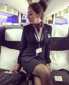 Rachel Riley Legs, British Airways Cabin Crew, Flight Attendant, Dress With Boots, Persona, Girl Fashion, Sexy Women, Mini Skirts, Female