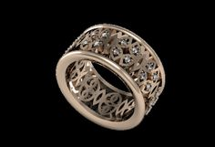 BUTTERFLY 18k Rose Gold Classic Engagement or by LUXARTJEWELRY, $1449.00