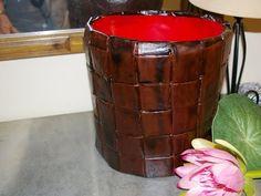 RECICLAR UN VIEJO CUBO DE PINTURA. Recycle an old paint bucket - YouTube