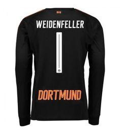 Billiga Fotbollströjor Dortmund Målvakt Roman Weidenfeller 1 Hemmatröja 17-18 Långärmad Neymar, Messi, Graphic Sweatshirt, T Shirt, Ronaldo, Sweatshirts, Long Sleeve, Sleeves, Sweaters
