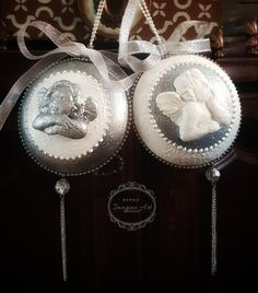 Christmas Balls Decorations, Ball Decorations, Dream Catcher, Mixed Media, Xmas, Dreamcatchers, Christmas, Navidad, Noel