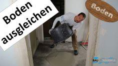 Bodenausgleichsmasse Anleitung - Boden ausgleichen - Nivelliermasse au...
