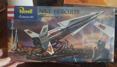 Other Military Aircraft Models 2587: Revell U.S. Army Nike Hercules Ground-To-Air Missile Kit H1804:149 -> BUY IT NOW ONLY: $40 on eBay!