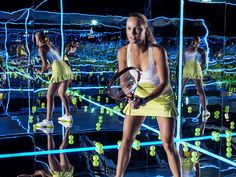 """""""Caroline Wozniacki, Andrea Petkovic and Laura Robson go all in on game day with a unique new fusion of performance and style.adidas by Stella McCartney Barricade is a new collection of tennis ap"""