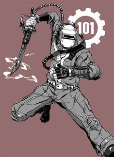 Art Fallout, Fallout Vault, Character Art, Character Design, Character Ideas, Post Apocalyptic Series, Vault Tec, Nuclear War, Apocalypse