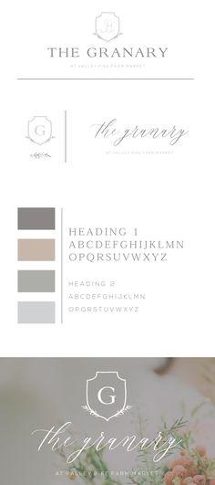 Rustic Farmhouse Branding. Organic Floral. Brand Design. Logo Design. Floral Design. Etherial. Mood Board. Branding Identity. Branding. New Brand Board. Professional Business Branding. Alisabeth Designs.