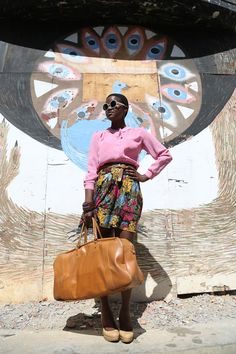 Siki Msuseni Cape Town Street style - South African Fashion.