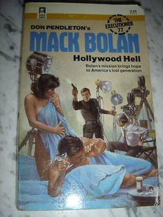 MACK BOLAN ~ EXECUTIONER #77 HOLLYWOOD HELL ~ 1ST PBO