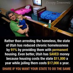 Utah tackling poverty and crime with affordable housing. Faith In Humanity Restored, Thing 1, Helping The Homeless, The Victim, Social Issues, Social Justice, Change The World, Thought Provoking, Good People