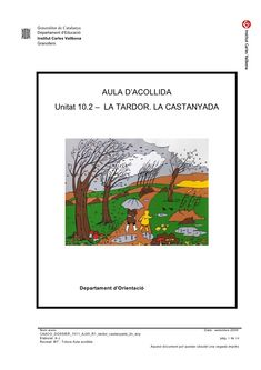 Generalitat de Catalunya Departament d'Educació Institut Carles Vallbona Granollers AU...
