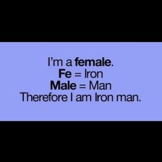 I am Ironman!