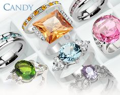 Want Some Candy Jewelry? Yes or No Get All Colored Rings Here #BuyBlueSteel