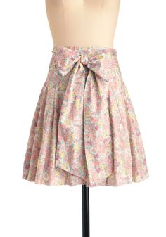 modcloth: a good day skirt. i love the skirts with the bows in the back..