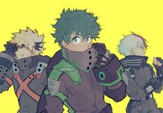 Cute Anime Guys, Cute Art, Hero Wallpaper, My Hero, Hero Academia Characters, My Hero Academia Costume, Anime Characters, Boy Art, Fan Art