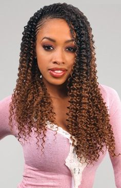 53 Box Braids Hairstyles That Rock - Hairstyles Trends Curly Crochet Hair Styles, Curly Hair Styles, Natural Hair Styles, Braided Hairstyles For Black Women, Braids For Black Hair, Box Braids Hairstyles, 1950s Hairstyles, Hairstyles 2016, Hair Updo