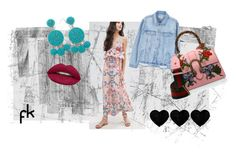 """""""Concrete #2"""" by fru316 on Polyvore featuring MANGO, Huda Beauty, Gucci and Humble Chic"""