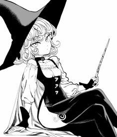 (notitle) - One Punch Man Anime Echii, Anime One, Fanarts Anime, Tatsumaki One Punch Man, Saitama One Punch Man, Tatsumaki Manga, Caped Baldy, One Punch Man Manga, Sketch Poses