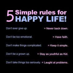 good life goals