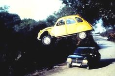 Best Bond chase vehicle a Citroen 2CV?   Well that's how the people voted, didn't they? LMAO!!! I think it's great ;-D!