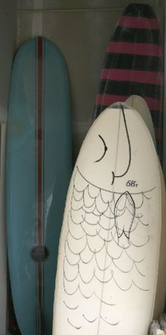 My next surfboard I want to paint the entire backside like a mermaid's tail