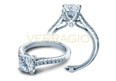 New Couture-0415R from the Couture Collection of engagement rings by Verragio.   http://verrag.io/Couture-0415R